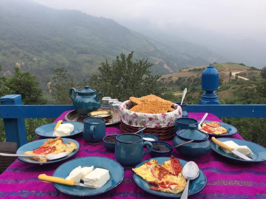 غذاهای محلی ساسنگ