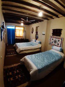 اتاق توسکا اقامتگاه ساسنگ
