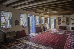 اتاق دورهمی اقامتگاه ساسنگ